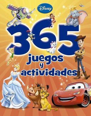 365 JUEGOS Y ACTIVIDADES.DISNEY
