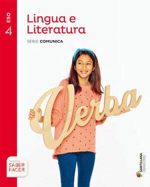 LINGUA E LITERATURA SERIE COMUNICA 4 ESO SABER FACER