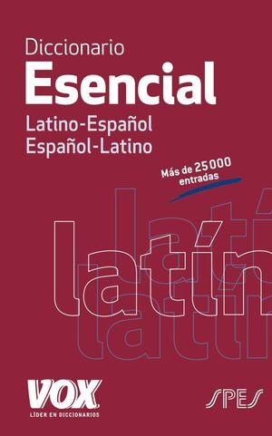 DICC.ESENCIAL LATINO/ESPAÑOL.VOX