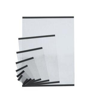 DISPLAY SOPORTE A4 PVC TRANSPARENTE MAGNETICO PACK 10UNIDDES