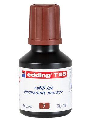 EDDING TINTA EDDING T-25 MARRON T 25 30ML T25-07