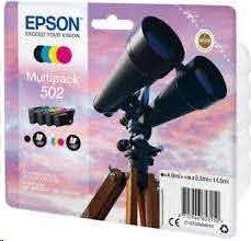 EPSON MULTIPACK 502 CYAN MAG AMA NEGRO XP-5100 XP-5105 WF-2860DWF WF-2865DWF C13T02V64010