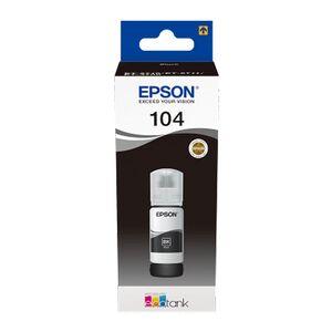 EPSON TINTA ECOTANK 104 70ML NEGRO T00P140 4500HOJAS