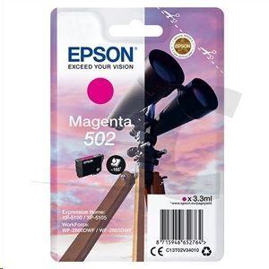 EPSON CARTUCHO 502 MAGENTA XP-5100 XP-5105 WF-2860DWF WF-2865DWF C13T02V34010