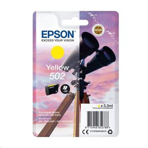 EPSON CARTUCHO 502 AMARILLO XP-5100 XP-5105 WF-2860DWF WF-2865DWF C13T02V44010