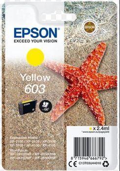 EPSON® · C13T03U44010 AMARILLO WORKFORCE WF-2830DWF / WF-2835DWF / WF-2850DWF / XP-2100 / XP-2105 /  XP-3100 / XP-4100 / XP-3105 / XP-4105 /  WF-2810DWF EPT03U44