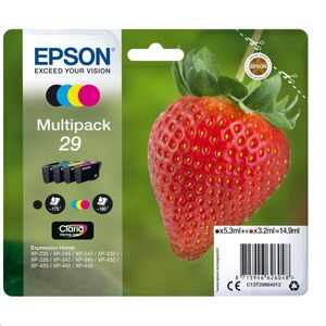 CARTUCHO EPSON 29 C13T29864012 PACK MULTICOLOR T2986