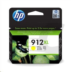 CARTUCHO HP 912XL  3YL83AE AMARILLO 3YL83AE#BGY