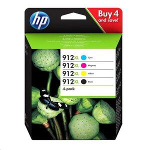 CARTUCHO HP 912XL PACK CMYK NEGRO COLOR 3YP34AE CIAN MAGENTA AMARILLO Y NEGRO