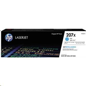 TONER HP 207X CYAN 2450 PÁGINAS ORIGINAL W2211X