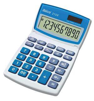 IBICO CALCULADORA SOBREMESA 210X 10 DIGITOS PANTALLA ORIENTABLE 10,4X16,6X12 CM 135 GR REF IB410079