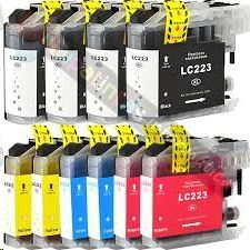 COMP. INKJET BROTHER PACK NEGRO Y COLORES MFC J4120DW/J4420DW/J4620DW/J4625DW/J5320DW/J5620DW/J5625DW/J5720DW LC223VALBP LC221VALBP 13ML