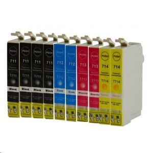 COMP. INKJET EPSON STYLUS PHOTO D78/D120DX4000/DX4050/DX5000/DX5050/DX6000/DX6050/DX7450/DX8450,STYLUSD92/DX4400/DX4450/DX7000F/DX7400/DX8400/S20/S21/SX100/SX105/SX110/SX115/SX200/SX2 MULTIPACK CMYK C