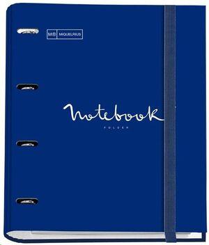 MIQUEL RIUS CARPEBLOC NOTE BOOK EMOTIONS AZUL MARINO 14682